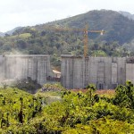Barro Blanco is 44 metre high with a capacity of 124.83 GW/year. The plan was to initiate the dam in April and connect to the electricity grid in June 2015.  Photo by LA PRENSA/Gabriel Rodríguez