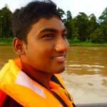 First time on Kinabatangan river