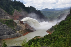 Dam building in Sarawak. Photo Credit: SAVE Rivers