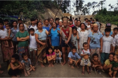 Indigenous resistance to the dams. Photo Credit: SAVE Rivers