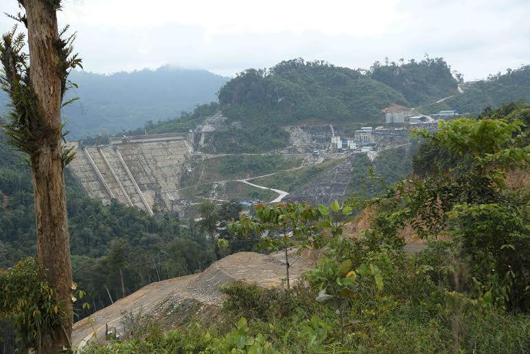 The Murum dam construction site. Photo credit: Linus Chung